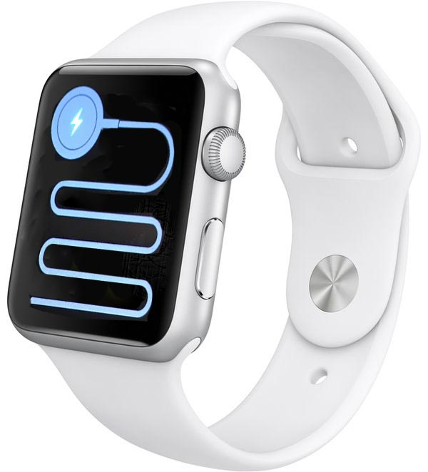 What does this mean when it appears on my apple watch for Mac due the box
