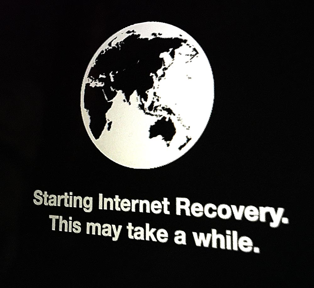 Internet recovery: The tool you need if literally nothing